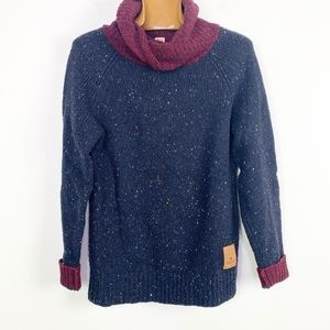 Scotch & Soda naps yarn pull twisted hood sweater
